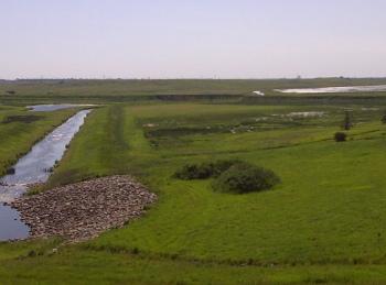 Low Level Spill Way on Raferty Dam